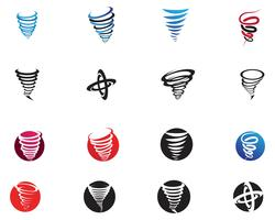 Tornado symbol vector illustration
