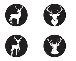 Deer vector icon illustration design