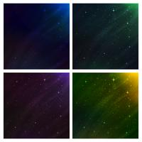 abstract space background. vector background set