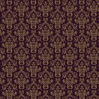 Fond ornemental de luxe Webseamless. Motif floral sans soudure damassé. Papier peint royal.