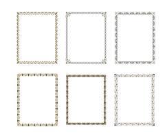Set de cadre décoratif de luxe