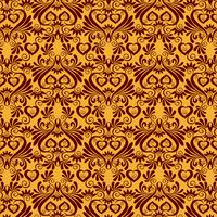 Luxury Damask background vector