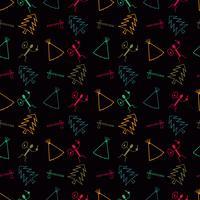 fundo de padrão de símbolo primitivo