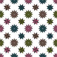 Musterform-Sternhintergrund