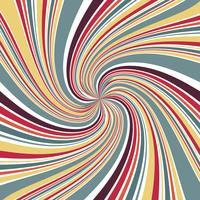 Abstract Line twirl focus with retro color background