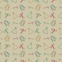 primitive symbol pattern background
