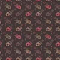 beetle colorful pattern background