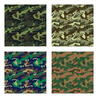 camouflage pattern design with different color