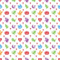 cute hallowen pattern background