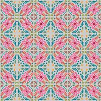 naadloze bloemmotief met vloeiende kleurenachtergrond