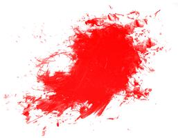 Splatter water color texture vector