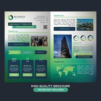 Brochure Green Business Fold