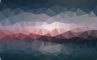 Vettore di luce scuro Low poly crystal background. Poligono design pa