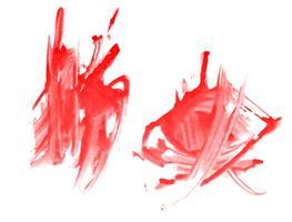 Éclaboussures vecteur de texture de couleur de l'eau
