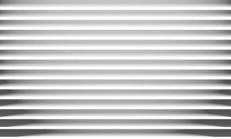 Abstract white paper horizontal lines texture and shadow background. vector