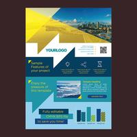 Colorful Flyer Business Brochure Design vector
