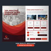 Brochure Red Business Fold