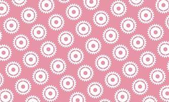 Abstract background of Cogs and gears on pink background. design vector illustration.