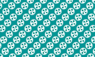Abstract background of Cogs and gears on green background. design vector illustration.