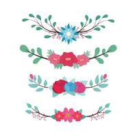 Lovely floral dividers