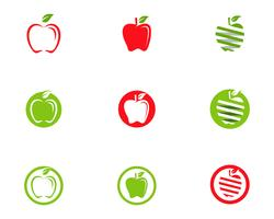 Apple vector illustratie ontwerp