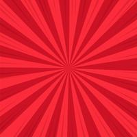 Red Abstract Comic Cartoon Sunlight Background. Vector Illustration Design.