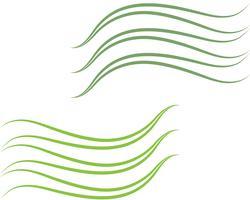 Vecteurs de fond d'abstrack de ligne de vague