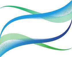 Wave line background vectors