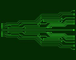 Vector circuit board illustration EPS10