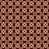 Vector seamless pattern. Modern stylish texture. Repeating linear ornament