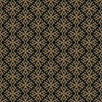 Vektor nahtlose Muster. Moderne stilvolle Textur. Wiederholte geometrische Kacheln aus gestreiften Elementen