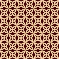 Seamless geometric line pattern. Contemporary graphic design. Endless linear texture for wallpaper, pattern fills, web page line background. Monochrome golden brown geometric ornament
