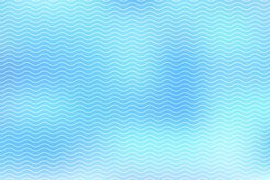Abstract white lines wave on blue background