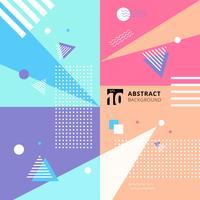 Abstracte kleurrijke geometrische patroon stijl achtergrond.