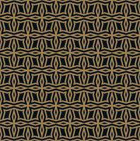 Ornamento inconsútil abstracto líneas patrón vector illustration