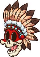Cranio nativo americano