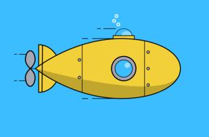 Un sottomarino molto piccolo