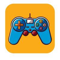 Gamepad gratis vector sjabloon