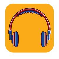 Head Phone Free Logo template