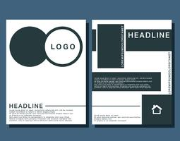 Cover brochures template