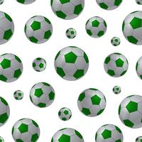 Football ball seamless background