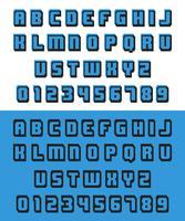 Old video game font