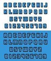 Vecchio font per videogiochi