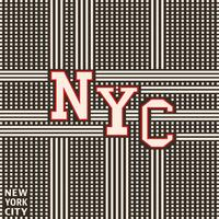 Vintage poster van New York