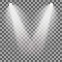Stage illuminated spotlight