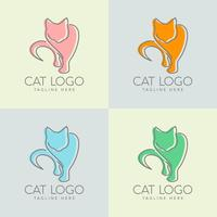 création de logo de chat simple