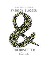 Fashion blogger trendsättare chic