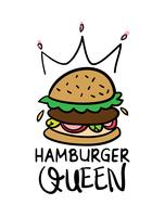 Hamburger queen design