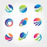 Global Finance Company Business Logo Template Collection