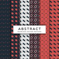 Abstract Seamless Vector Patterns Set